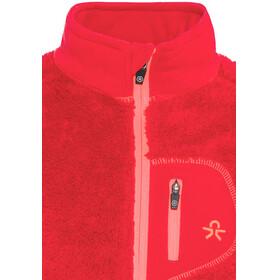 Color Kids Burma Mini Pile Fleece - Chaqueta Niños - rojo